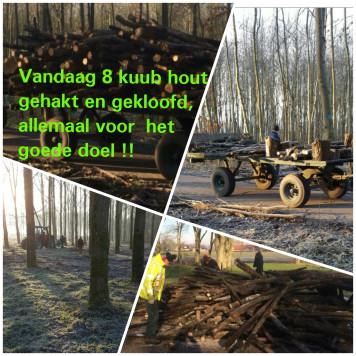 hout hakken paasbrunch